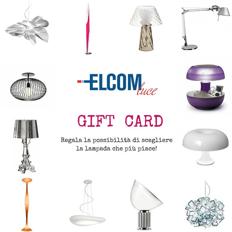 Gift Card Elcom Luce